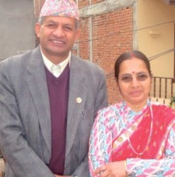 Pradeep-Gyawali-with wife