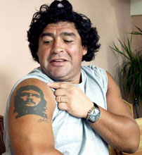 maradona-che tattoo