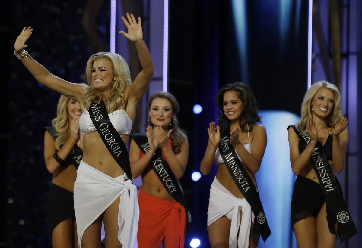 Miss America 2014 compitition