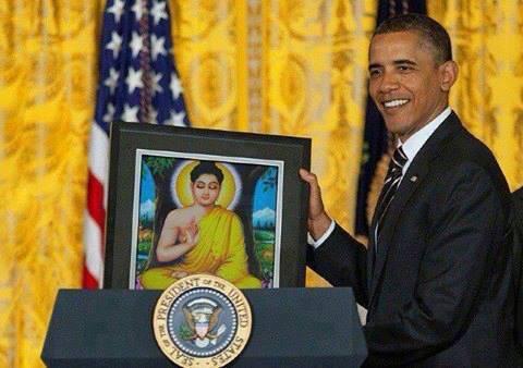 buddha - obama