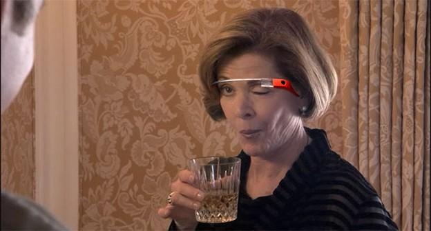 Google wink glass