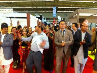 Nepali businessman belgium in festival