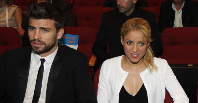 Shakira, Sarah Silverman, Gerard Pique