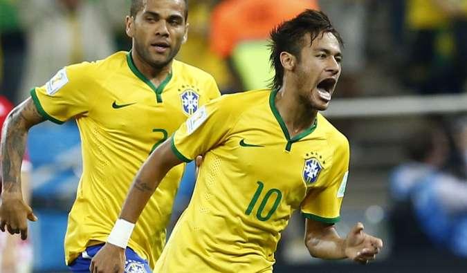 Brazil foot