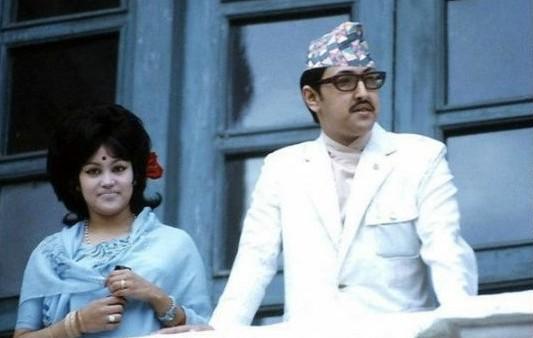King Birendra n Aishwarya