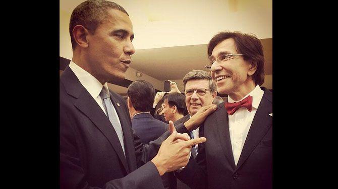 Obama and Rupo