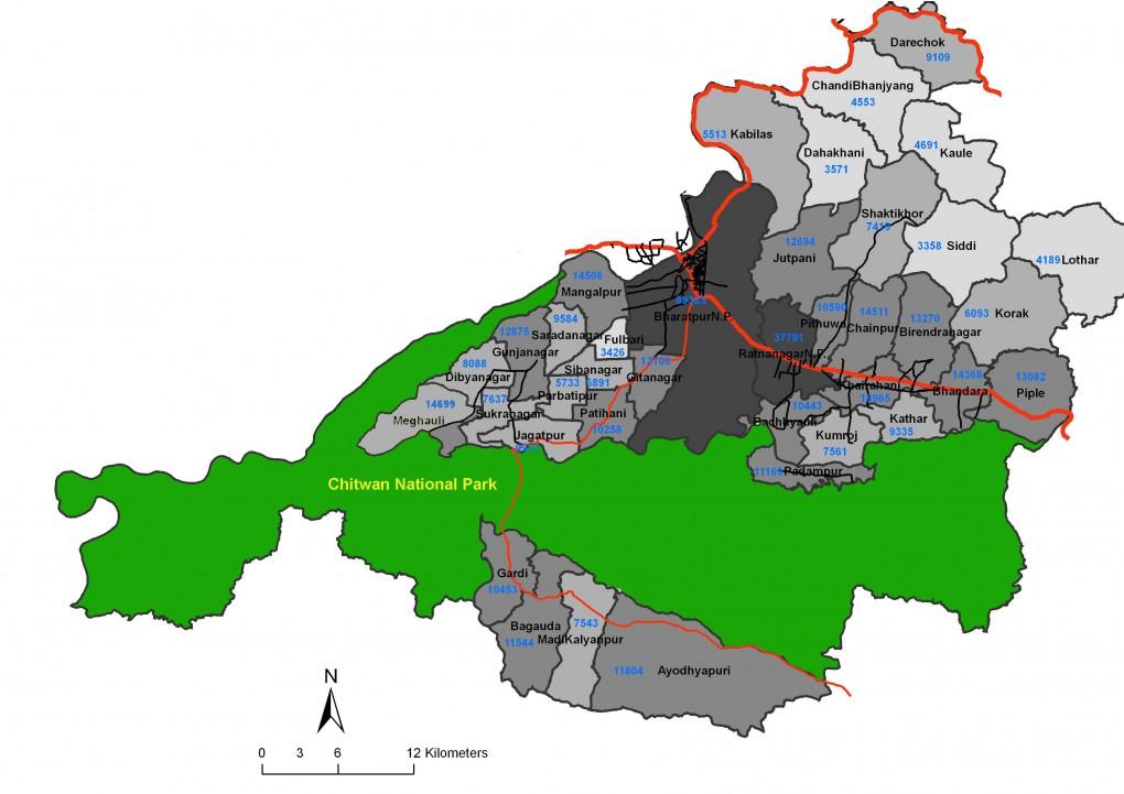 Chitwan_map