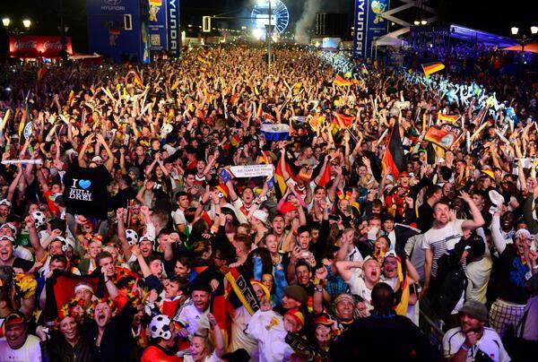 German celebrates