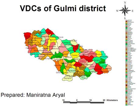 Gulmi VDCs