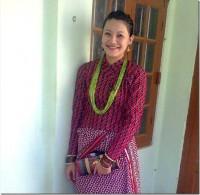 rewati-chetri-in-nepali-attire