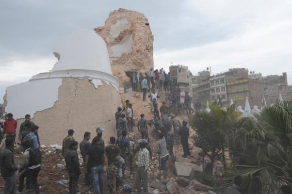 Dharahara break down