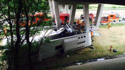 UK bus accident Bel