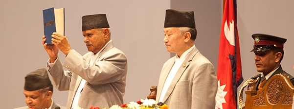 Nepal-new-constitution-announced-By-Rambaran