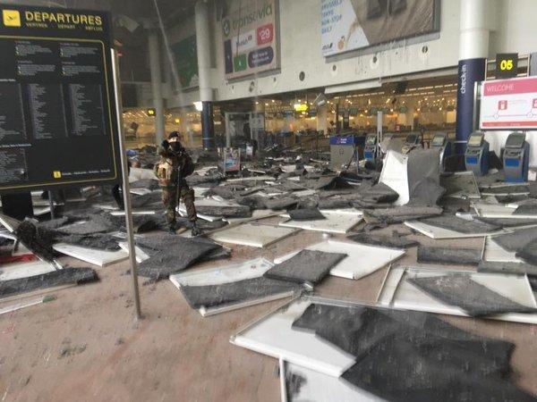 Brussels blast