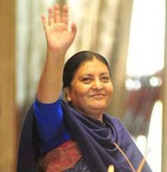 राष्ट्रपति  भण्डारी फोब्र्स म्यागजिनको शक्तिशाली महिलाहरूको सूचिमा