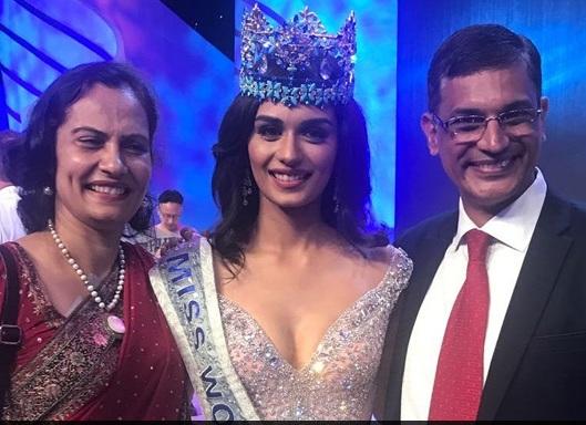 भारतीय सुन्दरी मानुषी भइन् मिस वर्ल्ड