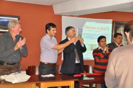 युरो-नेपाल गतिविधिबारे पौडेलको पुस्तक विमोचित